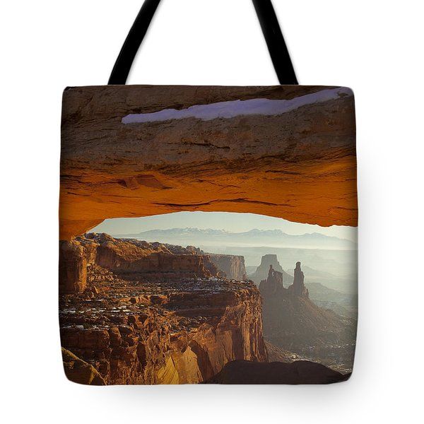 Mesa And Washer Woman Arches Tote Bag