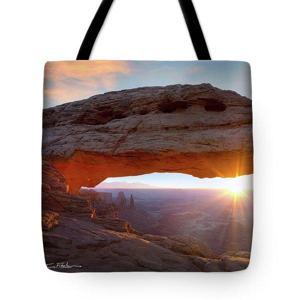 Mesa Arch, Canyonlands, Utah Tote Bag