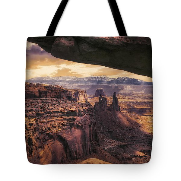 Mesa Arch Tote Bag by James Bethanis