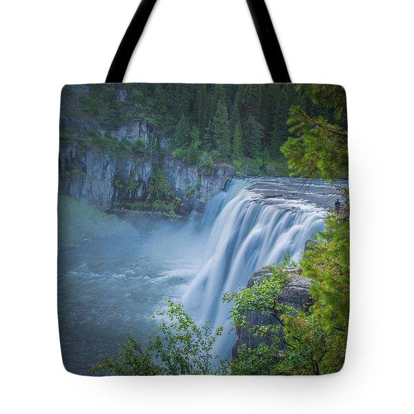 Mesa Falls - Yellowstone Tote Bag by Dan Pearce