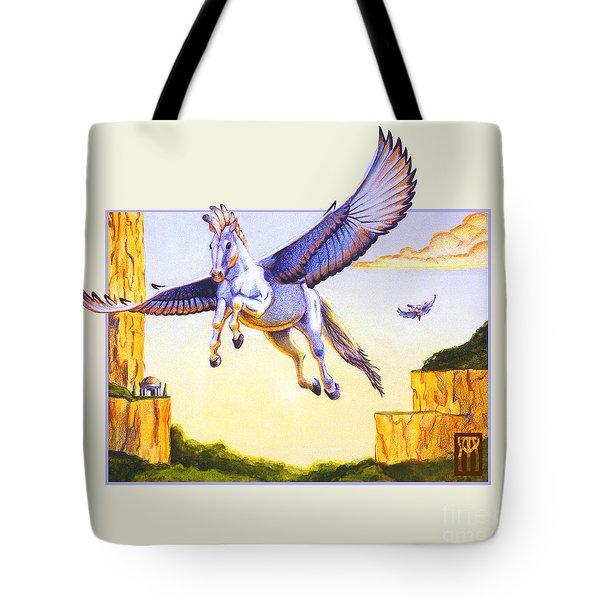 Mesa Pegasus Tote Bag by Melissa A Benson