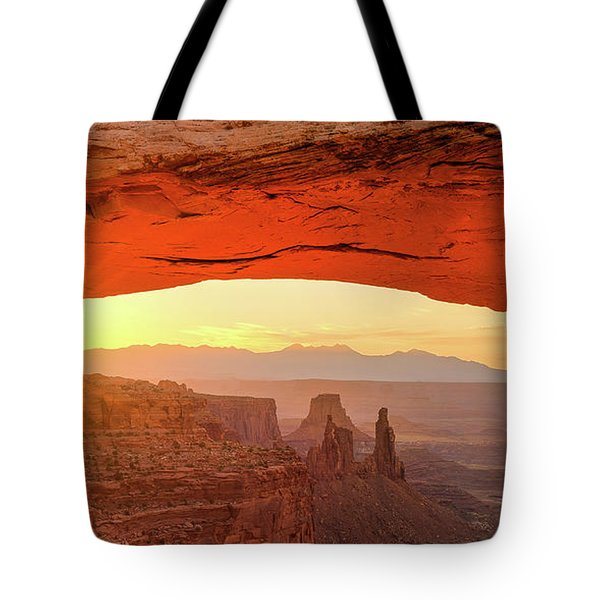 Mesa Rising Center Tote Bag
