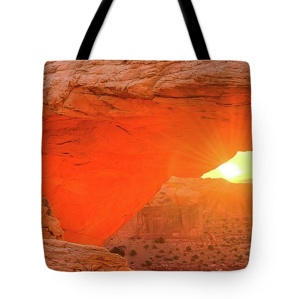 Mesa Rising Left Tote Bag
