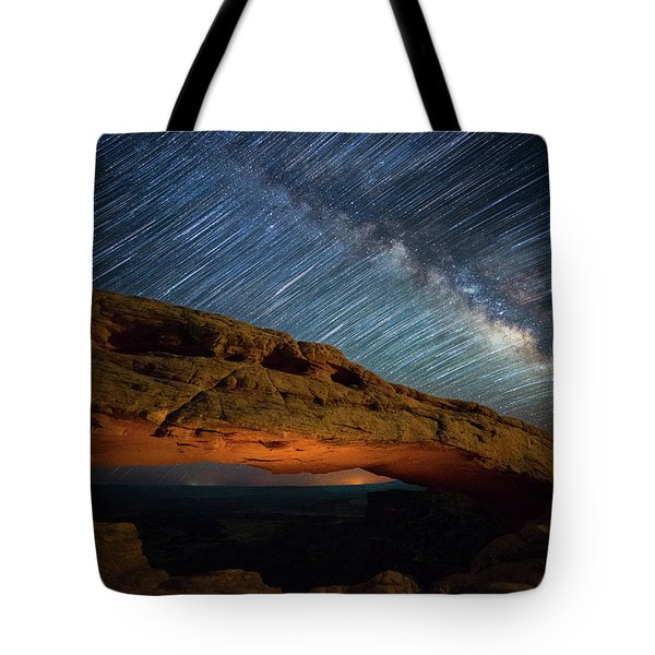 Mesa Star Storm Tote Bag