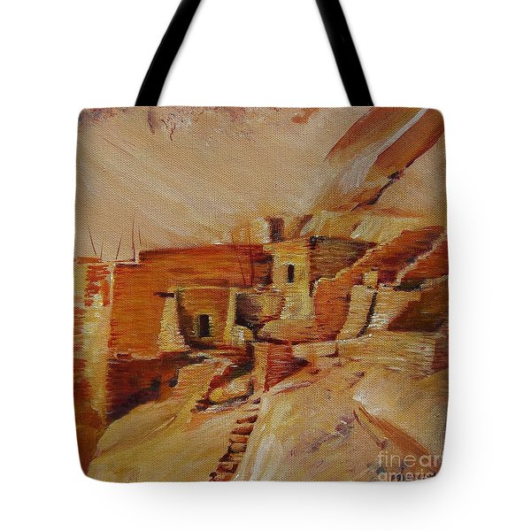 Mesa Verde Tote Bag by Summer Celeste