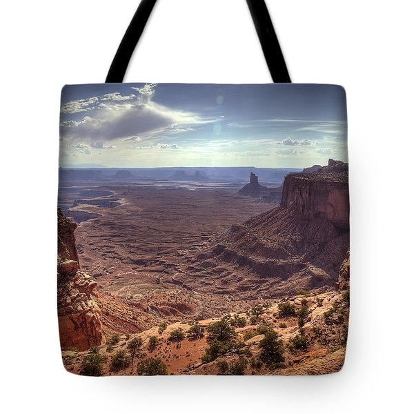 Mesas And Canyons Tote Bag