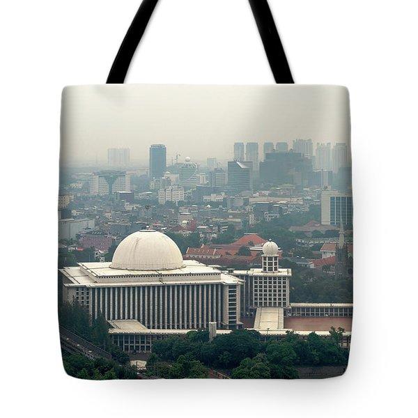 Mesjid Istiqlal Tote Bag