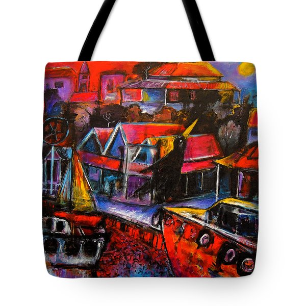 Mesmerised By The Moon Tote Bag