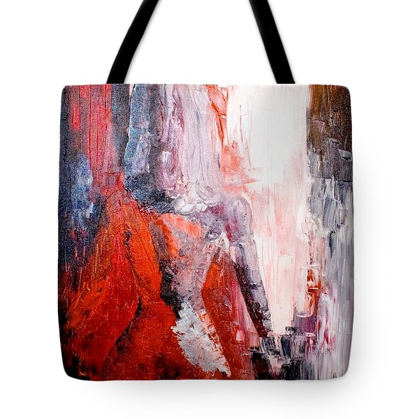 Tote Bag featuring the painting Mesmerised by Piety Dsilva