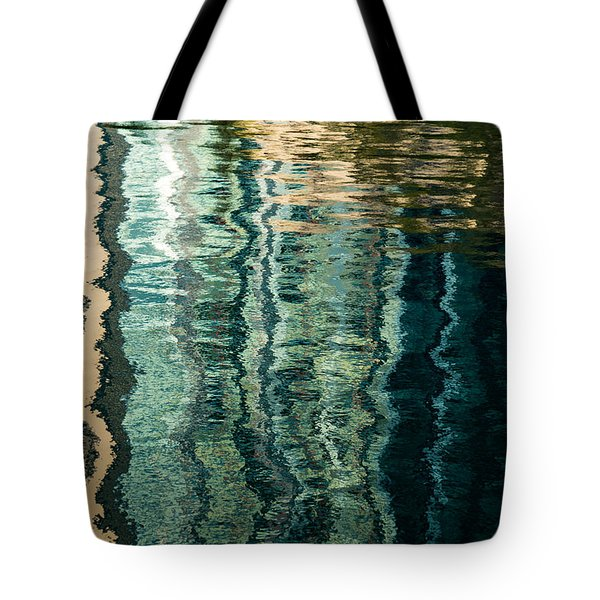 Mesmerizing Abstract Reflections Two Tote Bag