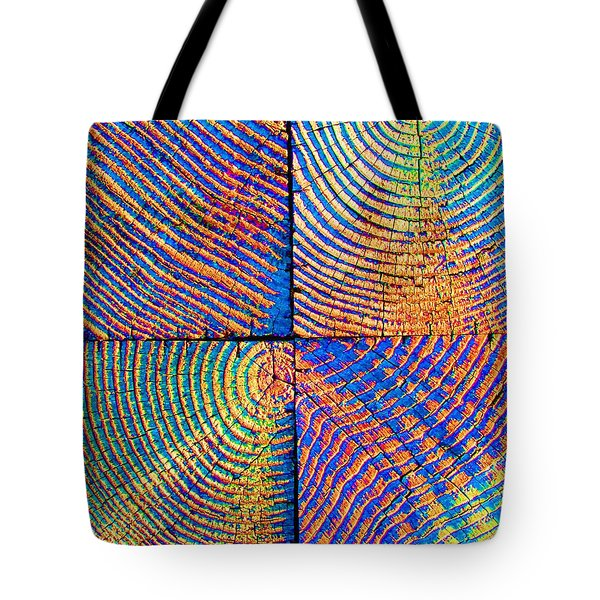 Rainbow Powerwood Tote Bag