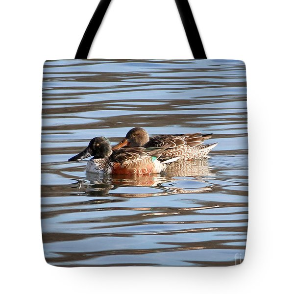 Mesmerizing Shovelers Tote Bag by Anita Oakley