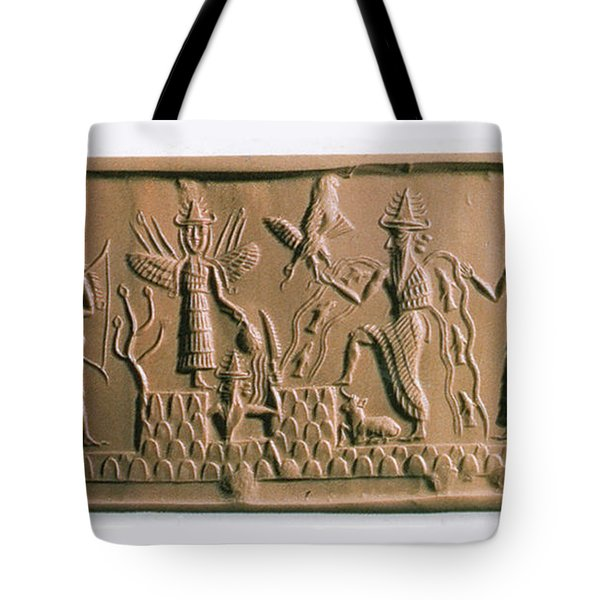 Mesopotamian Gods Tote Bag