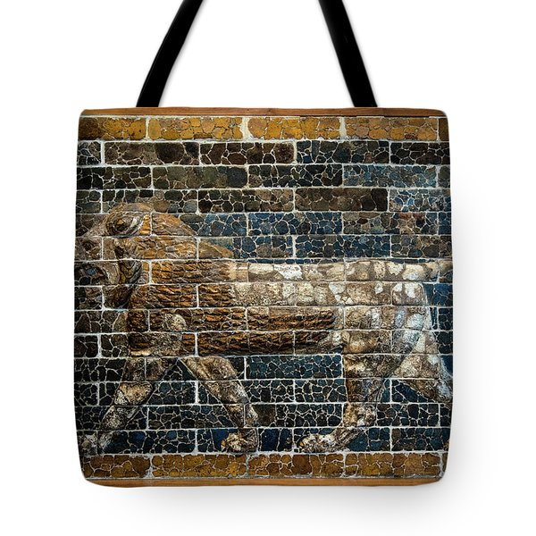 Mesopotamian Lion Tote Bag