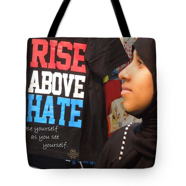 Message For All Tote Bag