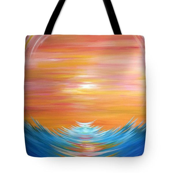 Message In A Bottle #1 Tote Bag