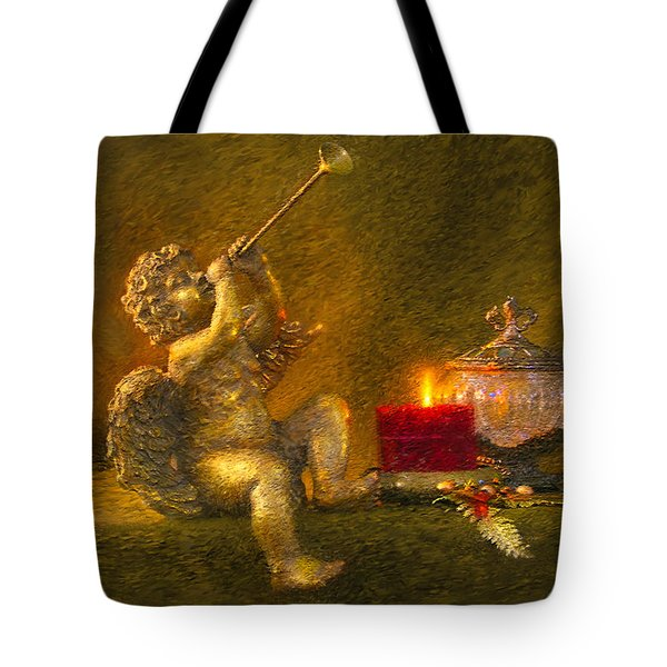 Messages From Heaven Tote Bag