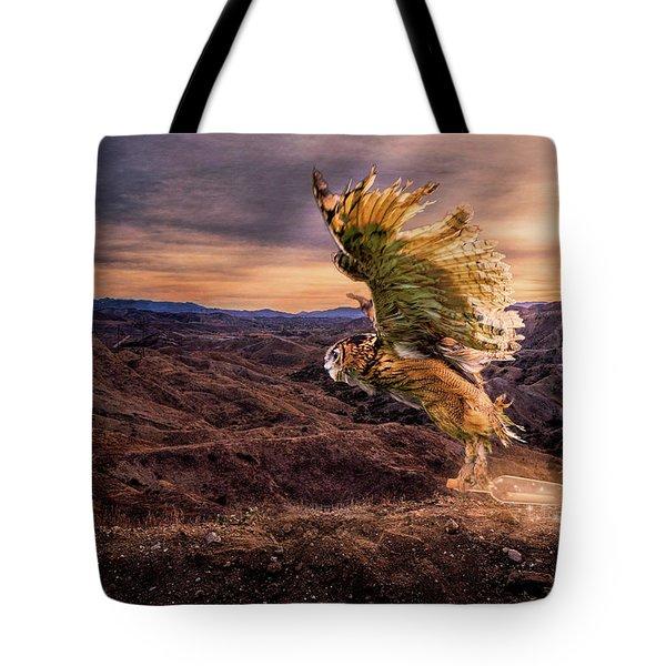 Messenger Of Hope Tote Bag