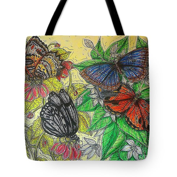 Messengers Of Beauty Tote Bag