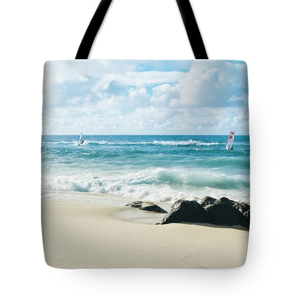 Tote Bag featuring the photograph Messengers Of Light by Sharon Mau
