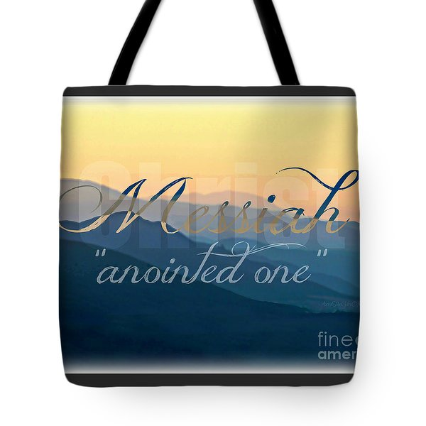 Messiah  Tote Bag