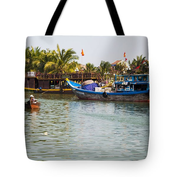 Tote Bag featuring the photograph Messing About On The River by Rob Hemphill