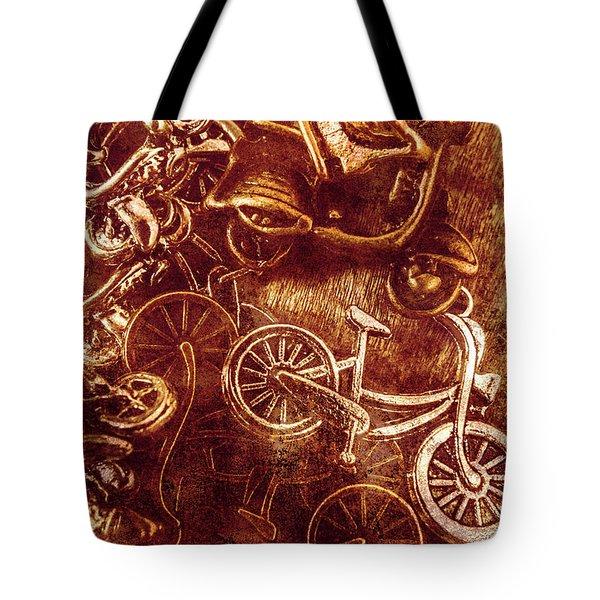 Messy Bike Workshop Tote Bag