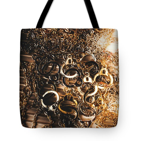 Messy Corruption Tote Bag