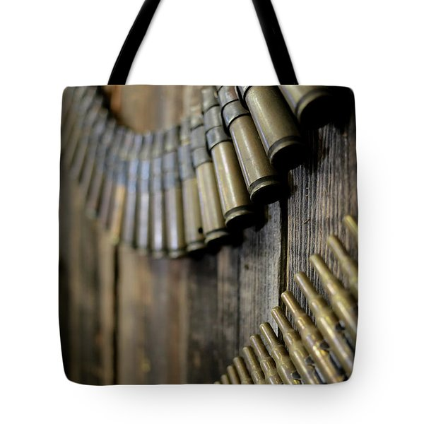 Tote Bag featuring the photograph Metal And Wood by Lora Lee Chapman