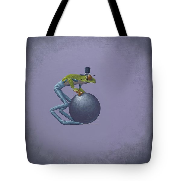 Metal Ball Tote Bag by Jasper Oostland