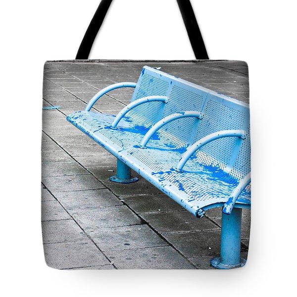 Metal Bench Tote Bag