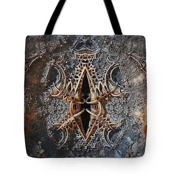 Metal Bender Tote Bag