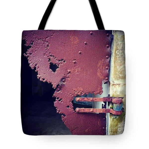Metal Door Ode To Sam Tote Bag
