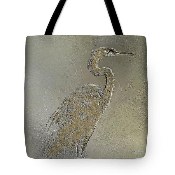 Metal Egret 3 Tote Bag