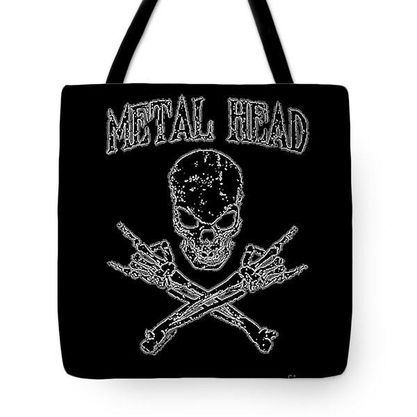 Metal Head Tote Bag