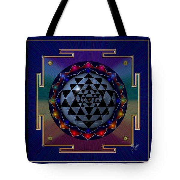 Metal Mandala Tote Bag