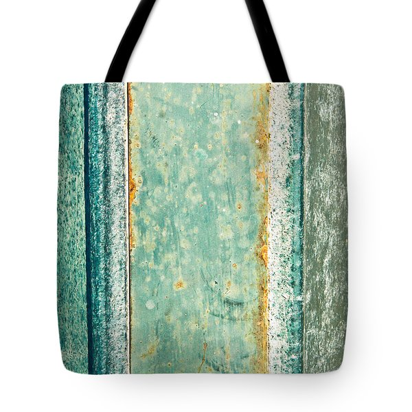 Metal Plate Tote Bag