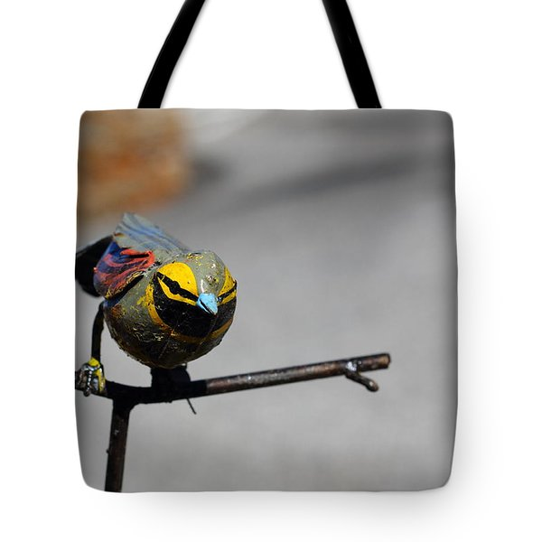 Tote Bag featuring the photograph Metallic Bunting by Richard Patmore