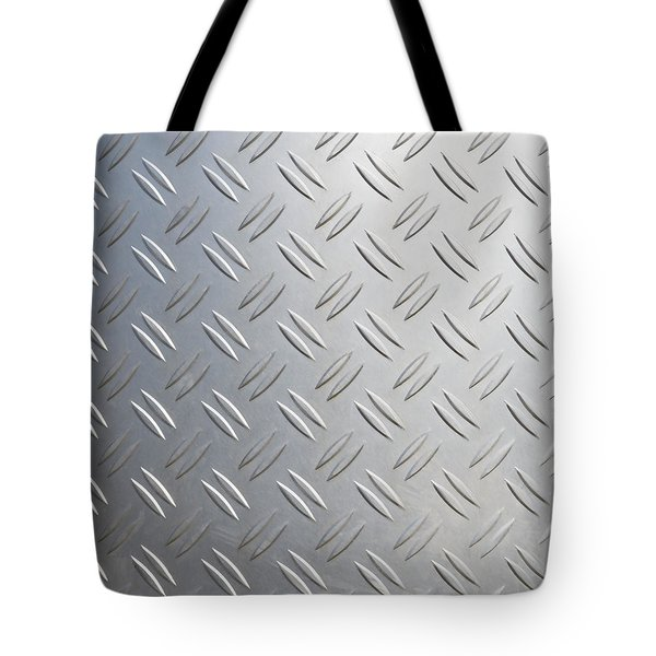 Tote Bag featuring the photograph Metallic Background by Hans Engbers