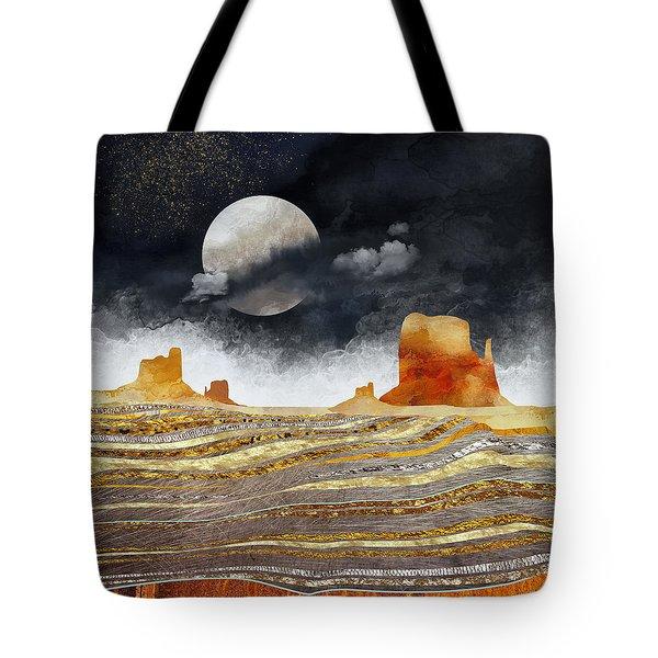 Metallic Desert Tote Bag