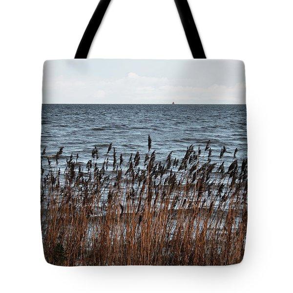 Metallic Sea Tote Bag