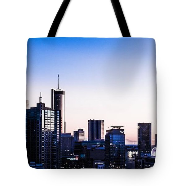 Metallic Sunset Tote Bag
