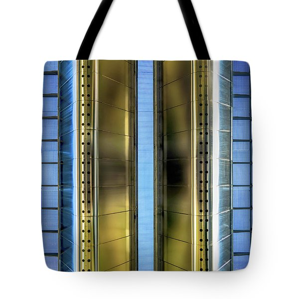 Metallic Tote Bag by Wim Lanclus
