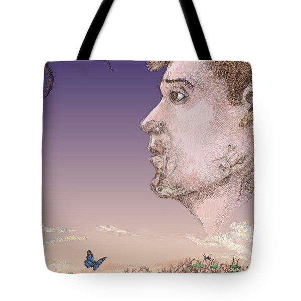 Metamorphosed Tote Bag