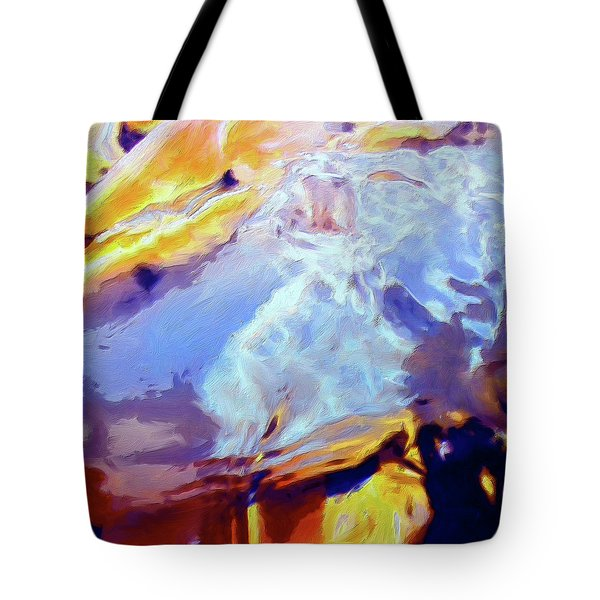 Tote Bag featuring the painting Metamorphosis by Dominic Piperata