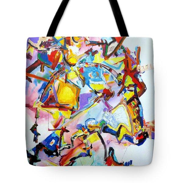 Metamorphosis On A Swing  Tote Bag