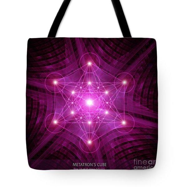 Metatron's Cube Tote Bag