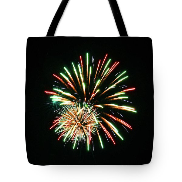 Tote Bag featuring the photograph Meteor Shower by Sally Sperry