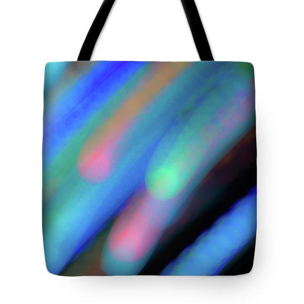 Meteor Storm Tote Bag