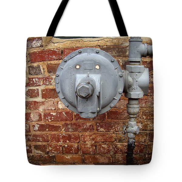 Meter In Athens Ga Tote Bag